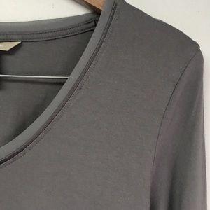 Grey Long Sleeve Soft Shirt
